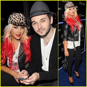 Christina Aguilera & Matthew Rutler: Samsung Galaxy Launch!