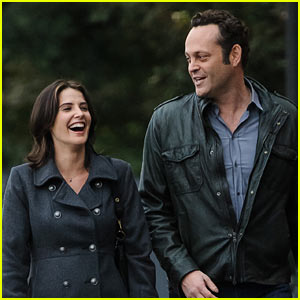 Vince Vaughn & Cobie Smulders: 'Delivery Man' Filming!
