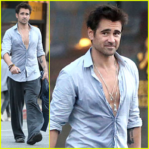Colin Farrell: Sweaty Saturday at the Gym!