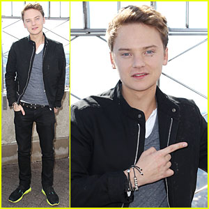 Conor Maynard Tops Empire State Building!