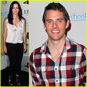 Courteney Cox & James Marsden: Playstation Halloween Bash!
