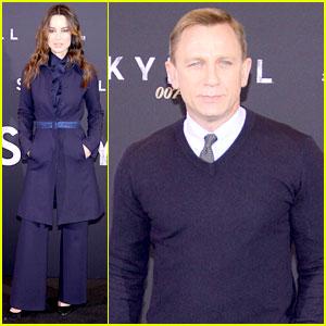 Daniel Craig & Berenice Marlohe: 'Skyfall' Berlin Photo Call