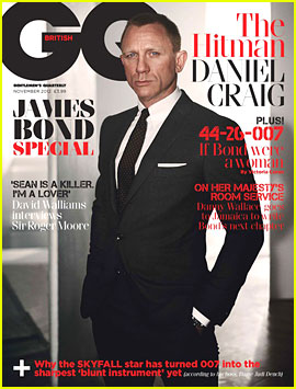 Daniel Craig Covers 'British GQ' James Bond Special Issue