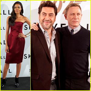Daniel Craig & Javier Bardem: 'Skyfall' Madrid Photo Call!