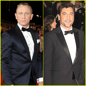 Daniel Craig & Javier Bardem: 'Skyfall' Premiere Studs!