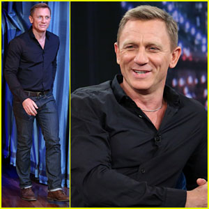Daniel Craig: 'Late Night with Jimmy Fallon' Appearance!