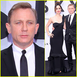Daniel Craig: 'Skyfall' Germany Premiere with Berenice Marlohe!