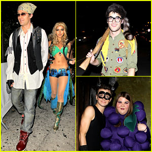 Chris Colfer & Darren Criss: Matthew Morrison's Halloween Party 2012