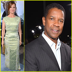 Denzel Washington: 'Flight' Hollywood Premiere!