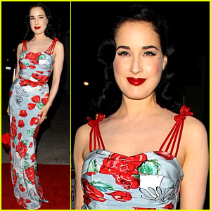 Dita Von Teese Launches Clothing Line in Los Angeles