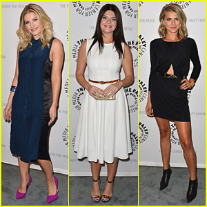 Elisha Cuthbert Wedding.Elisha Cuthbert Paleyfest With Happy Endings Cast Adam Pally