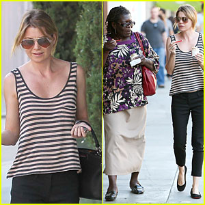 Ellen Pompeo: Ice Cream Sunday with Mother-In-Law!