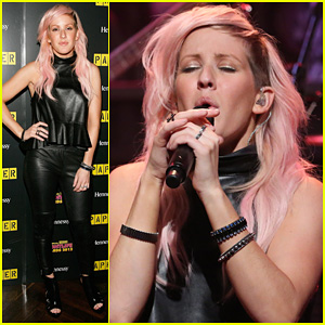 Ellie Goulding: 'Anything Could Happen' Live on 'Jimmy Fallon'!