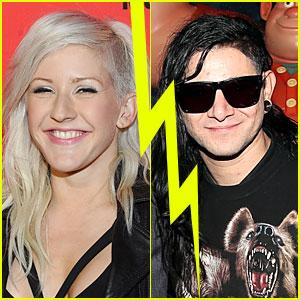 Ellie Goulding Splits with Boyfriend Skrillex?