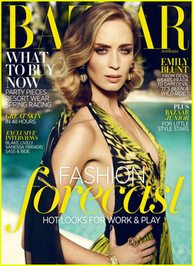 Emily Blunt Covers 'Harper's Bazaar' Australia!
