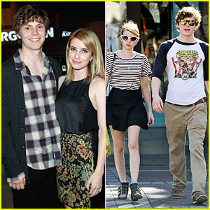 Emma Roberts & Evan Peters: 'rag & bone' Flagship Opening!