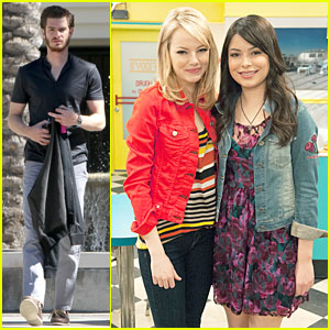 Emma Stone: 'iCarly' Sneak Preview- Watch Now!