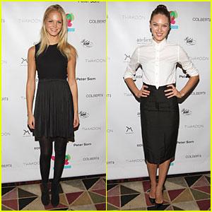 Erin Heatherton & Candice Swanepoel: Help By Design Fundraiser!