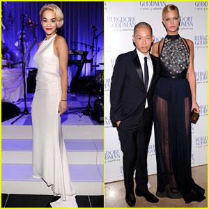 Erin Heatherton & Rita Ora: Bergdorf Goodman Anniversary!