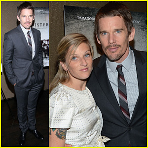 Ethan Hawke: 'Sinister' New York Premiere!