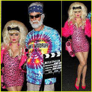 Fergie: Angelyne Halloween Costume with Josh Duhamel!