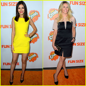 Victoria Justice &#038; Chelsea Handler: 'Fun Size' Premiere!