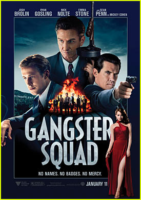 'Gangster Squad' Trailer & Poster ft. Ryan Gosling & Emma Stone