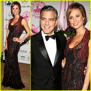 George Clooney: Carousel of Hope with Stacy Keibler!
