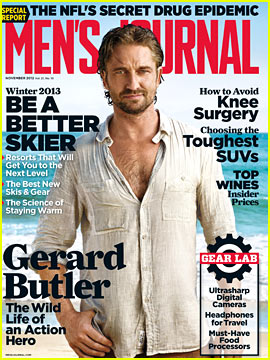 Gerard Butler Opens Up About Rehab To 'Men's Journal'