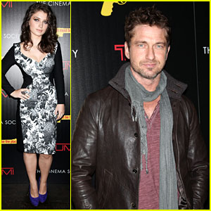 Gerard Butler & Eve Hewson: 'This Must Be the Place' Screening!
