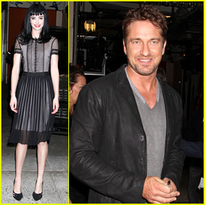 Gerard Butler & Krysten Ritter: 'Live with Kelly & Michael'!
