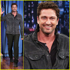 Gerard Butler: 'Late Night with Jimmy Fallon' Appearance!