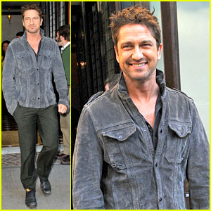 Gerard Butler Recalls Near Death Surfing Accident - Watch!