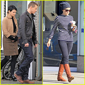 Ginnifer Goodwin & Josh Dallas: 'Once Upon A Time' Pawn Shop Filming!
