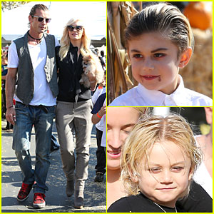 Gwen Stefani & Gavin Rossdale: Pumpkin Patch with the Kids!
