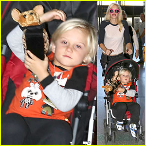 Gwen Stefani: Happy Birthday Kisses to Gavin Rossdale!