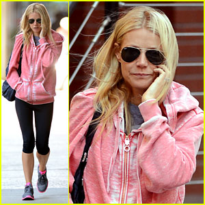 Gwyneth Paltrow: Big Apple Workout!