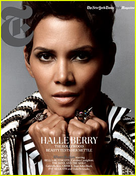 Halle Berry Covers 'T' Magazine!