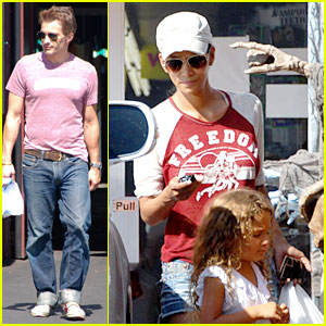 Halle Berry: Halloween Costume Shopping with Nahla!