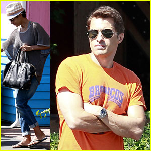 Halle Berry & Olivier Martinez: Pink Taco Lunch Date!