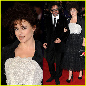 Helena Bonham Carter &#038; Tim Burton: 'Frankenweenie' Premiere!