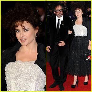 Helena Bonham Carter & Tim Burton: 'Frankenweenie' Premiere!