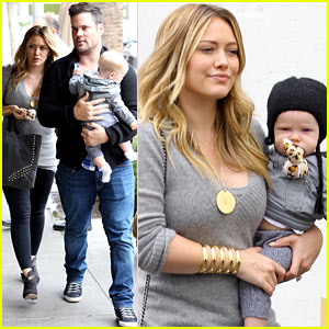 Hilary Duff: Happy Seven Month Birthday, Luca!