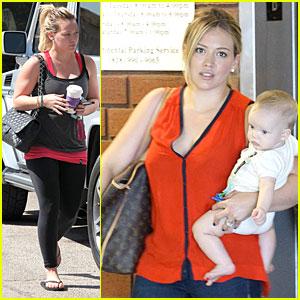 Hilary Duff: Luca's First Class!