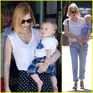 January Jones: Boutique Shopping with Xander!