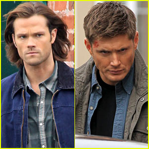 Jared Padalecki & Jensen Ackles: Serious for 'Supernatural'!
