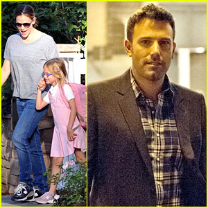 Jennifer Garner Has Girls Day Out, Ben Affleck Roams Rome!