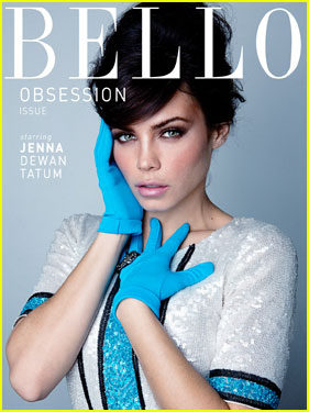 Jenna Dewan Covers 'Bello' Magazine's Obsession Issue