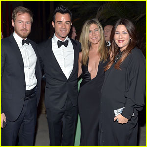 Jennifer Aniston & Justin Theroux: LACMA Gala with Drew Barrymore!