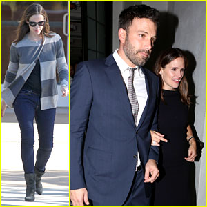 Jennifer Garner & Ben Affleck: Fundraiser at Spago!